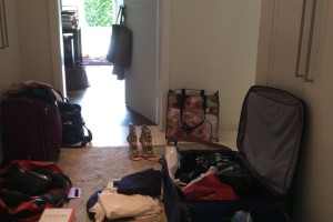 Packning…..